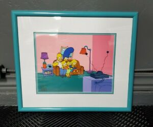 The Simpsons Limited Edition Animation Cel opening credits100th episode special