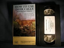 M-7 - How to Use Deer Calls by Peter Fiduccia VHS