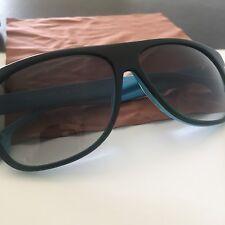 HUGO BOSS ORANGE Black Green Azura Men's Gradient Sunglasses BO0064/S NEW Case