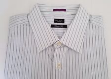Paul Smith Shirt Size 17.5 Extra Large Blue White Stripes