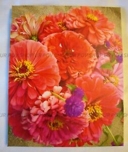 Pink Chrysanthemums Original Art Photograph Signed 2018 On Canvas Flower Theme
