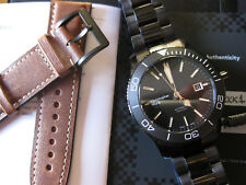 Christopher Ward C60 Trident PRO 600 43mm DLC PVD automatic vintage - NEW