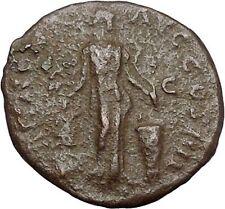 Antoninus Pius Marcus Aurelius Father Big Ancient Roman Coin APOLLO Cilt  i41285