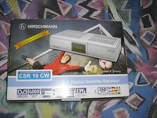 Hirschmann CSR 10 CW digital Sat Receiver, neuwertig OVP