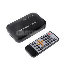 Mini 1080P TV Media Player MMC Card USB Input YPbPr/RCA/HDMI Output EU