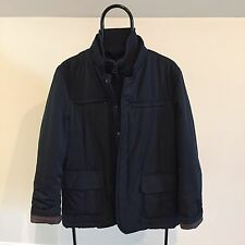 Valentino Fashion Group Men's Dark Blue Jacket Sz/M