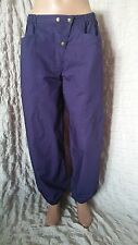 Gudrun Sjoden purplle fully warm lined cotton trousers size M