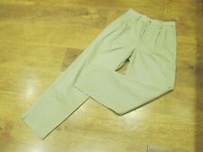 "GAP  W29"", L32"", Cream cotton, Loose Relaxed, Trousers, Rise 12"",Hem 17""  vgc"