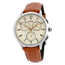 Fossil Abilene Chronograph White Dial Ladies Watch CH3014