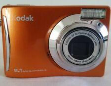 Kodak EasyShare C140 8.2MP Digital Camera - Orange *GOOD/TESTED*