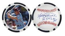 MIKE SCHMIDT / PHILADELPHIA PHILLIES - GOLF BALL MARKER / POKER CHIP **SIGNED**