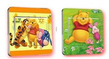 "Lot de 2 Autocollants Interrupteur ""Winnie ourson"" Sticker Chambre Enfant Bébé"