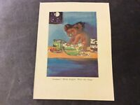 Vintage Book Print - What Silly Things - Dorothy Wall - 1950