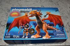Playmobil Dragons 5483 Medium Asian Battle Dragon, New in Sealed Box