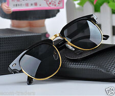 Imported CLUBMASTER style RETRO sunglasses/goggles with UV400 lens FOR MEN