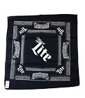 Miller Lite Louder Than Life Brewery Bandana Scarf Cotton Unused KY