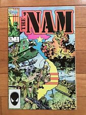 Marvel Comics THE 'NAM #1 NM 1986 Michael Golden; Vietnam