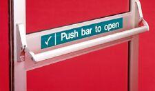 Axim pr-7085 Nascosto Rod MANIGLIONE ANTIPANICO dispositivo di uscita per porta in alluminio-argento