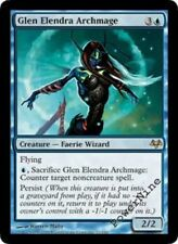 1 PLAYED FOIL Glen Elendra Archmage - Blue Eventide Mtg Magic Rare 1x x1