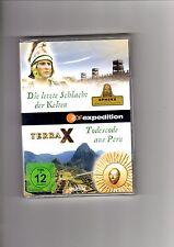 Terra X - Die letzte Schlacht der Kelten / Todescode aus Peru / NEU / DVD