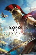 ASSASSIN'S CREED ODYSSEY - FIGHT POSTER - 22x34 VIDEO GAME 17327
