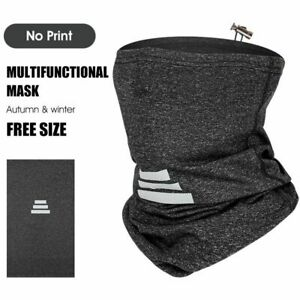 Winter Sport Scarf Reflective Warm Windproof Face Cover Unisex Cycling Headwear