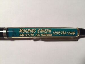 Moaning Caverns Vallecito CA Floaty Floating Pen Cave Souvenir Advertising Promo