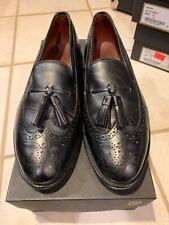 ALLEN EDMONDS Manchester Black Sz 10 EEE Men Slip On Dress Shoes