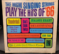 The MGM Singing Strings Play the Hits of '66 (vinyl LP)