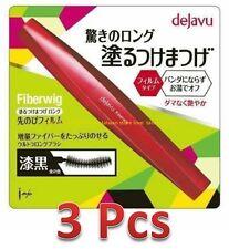 3 Pcs -New Imju Dejavu Fiberwig Extra Long Mascara 7.2g - Pure Black