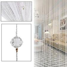Decorative Door String Curtain Beads Wall Panel Doorway Window Divider Blinds