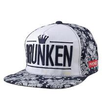 Fashion Adjustable Unisex Hip Hop Bboy Baseball Hat Snapback Cap Men Women Cool