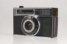 Agfa Isomat Rapid mit Agfa Color-Agnar 4,5/38mm schwarz/metallic