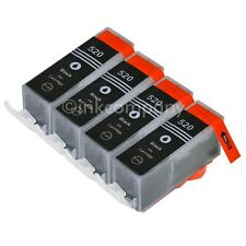 4 Tintenpatronen CANON + Chip PGI-520 MP 980 ersetzt PGI5 IP 3600 NEU