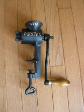 Early 1900s PURITAN No 10 MEAT GRINDER - Griswold Mfg. Co. - Erie, PA