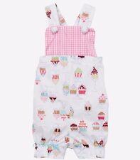 Girls TUTU & LULU boutique sunsuit romper 3-6 & 2T NWT cupcake birthday outfit