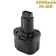 7.2V 3.0AH Ni-MH Batteria per Dewalt DE9057 DE9085 DW9057 DW920K DW920K-2 DW968K