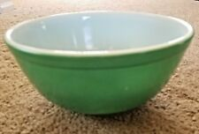 Vintage Pyrex #403 Primary Colors Green Mixing Nesting Bowl 2 1/2 QT Nice!