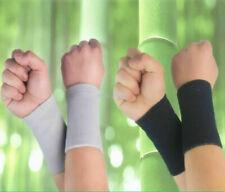 Wrist Sweat Bands Cotton Wristband Sweatband Sport Basketball Baseball Tennis#A