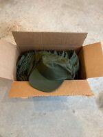 Vietnam US Army Hot Weather Field Cap Size 7 3/4 OG-106 Baseball Hat NOS 79