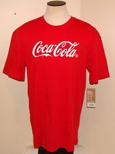 Coca Cola Fashion T-Shirt Men's XL Red (New with Tags) ***FREE SHIP***