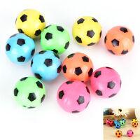10 Pcs Bouncing Football Ball Rubber Elastic Jumping-Soccer Kid Outdoor Toys  zi