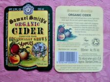 "SAMUEL SMITHS BREWERY "" ORGANIC CIDER "" PAPER  BEER BOTTLE LABEL + BACK UNUSED"