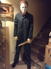 LIFE SIZE Michael Myers Halloween movie mask prop statue comic con horror figure