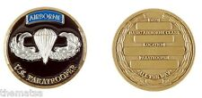 ARMY PARATROOPER BASIC AIRBORNE CLASS MILITARY ALL THE WAY  CHALLENGE COIN