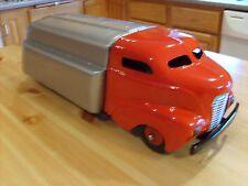 RARE WYANDOTTE RED & SIVER TRUCK GASOLINE TRUCK - COMPLETE - PRESSED STEEL TOYS