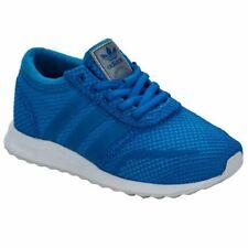 Boy's Adidas Originals Niños Los Angeles con Cordones Entrenadores en Azul