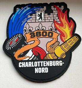 Berliner Feuerwehr Patch 3600 Charlottenburg Nord