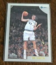 1998-99 Topps Chrome Dirk Nowitzki Rookie Card #154!