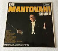 MANTOVANI ~ THE MANTOVANI SOUND ~ 1967 UK 12-TRACK MONO VINYL LP RECORD